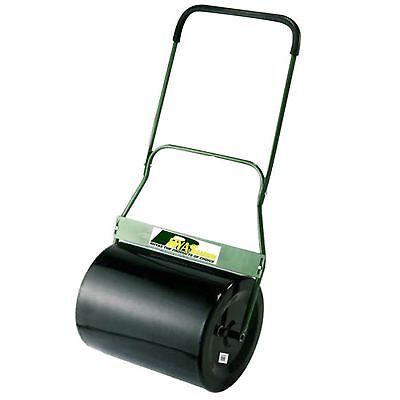 Rhyas Heavy Duty 69L Steel Garden Lawn Roller - Fillable with Water or Sand