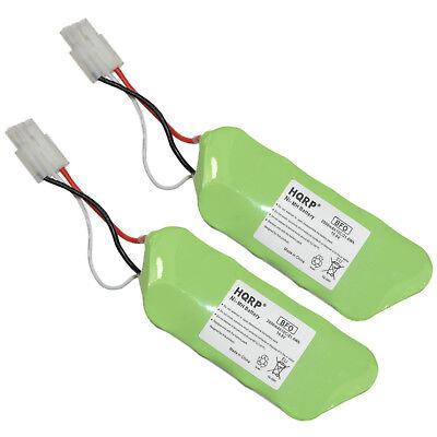 2-Pack HQRP Battery for Shark SV1110 SV1110N Freestyle Navig