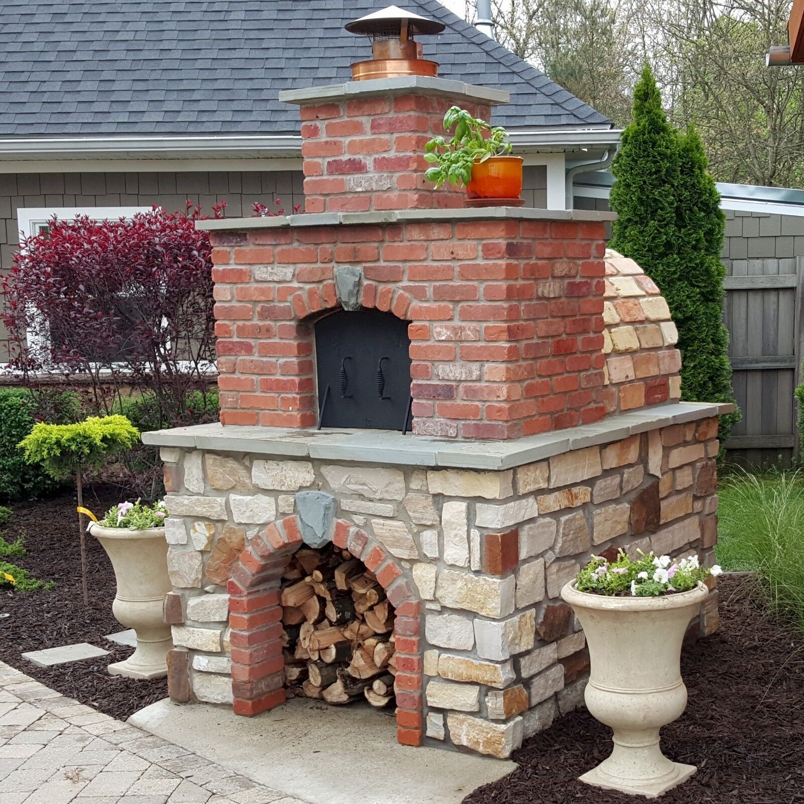 Brick Oven • Brick Pizza Oven - This IS America's BEST-SEL