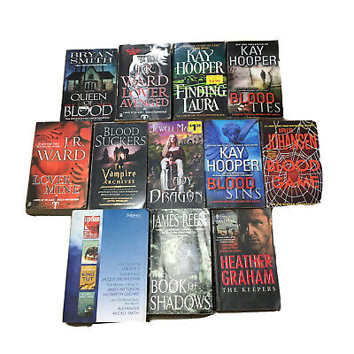 Blood Suckers Steven King Kay Hooper Jr Ward Horror Book Lot Mystery Vampires