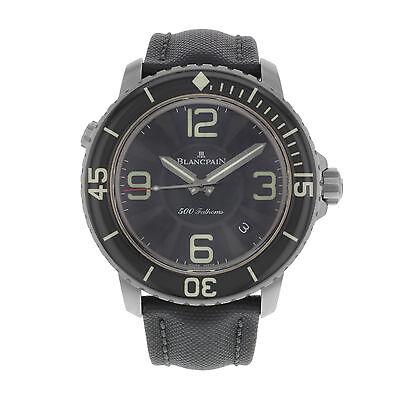Blancpain 500 Fathoms 50015-12B30-52B Titanium Automatic Men's Watch