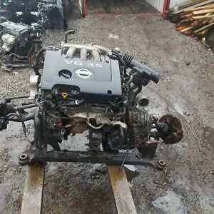 Nissan V6 3.5 engine with low kms