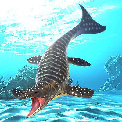 Dinosaur Christmas (Mosasaurus Model Ocean Dinosaur Sea Life Toy Action Figure Kids Christmas)