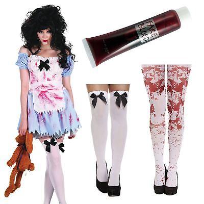 Zombie Alice In Wonderland Adulto Halloween Fiesta Disfraces](Disfraces Halloween Zombie)