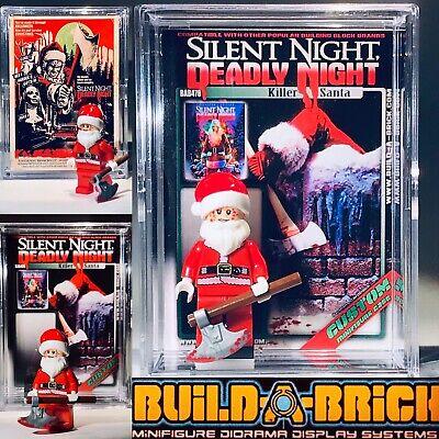 HORROR Silent Night Deadly Custom Mini Action Figure w Display Case 476 Santa