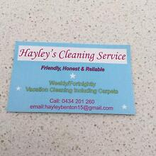 Hayley's cleaning services Meadow Springs Mandurah Area Preview