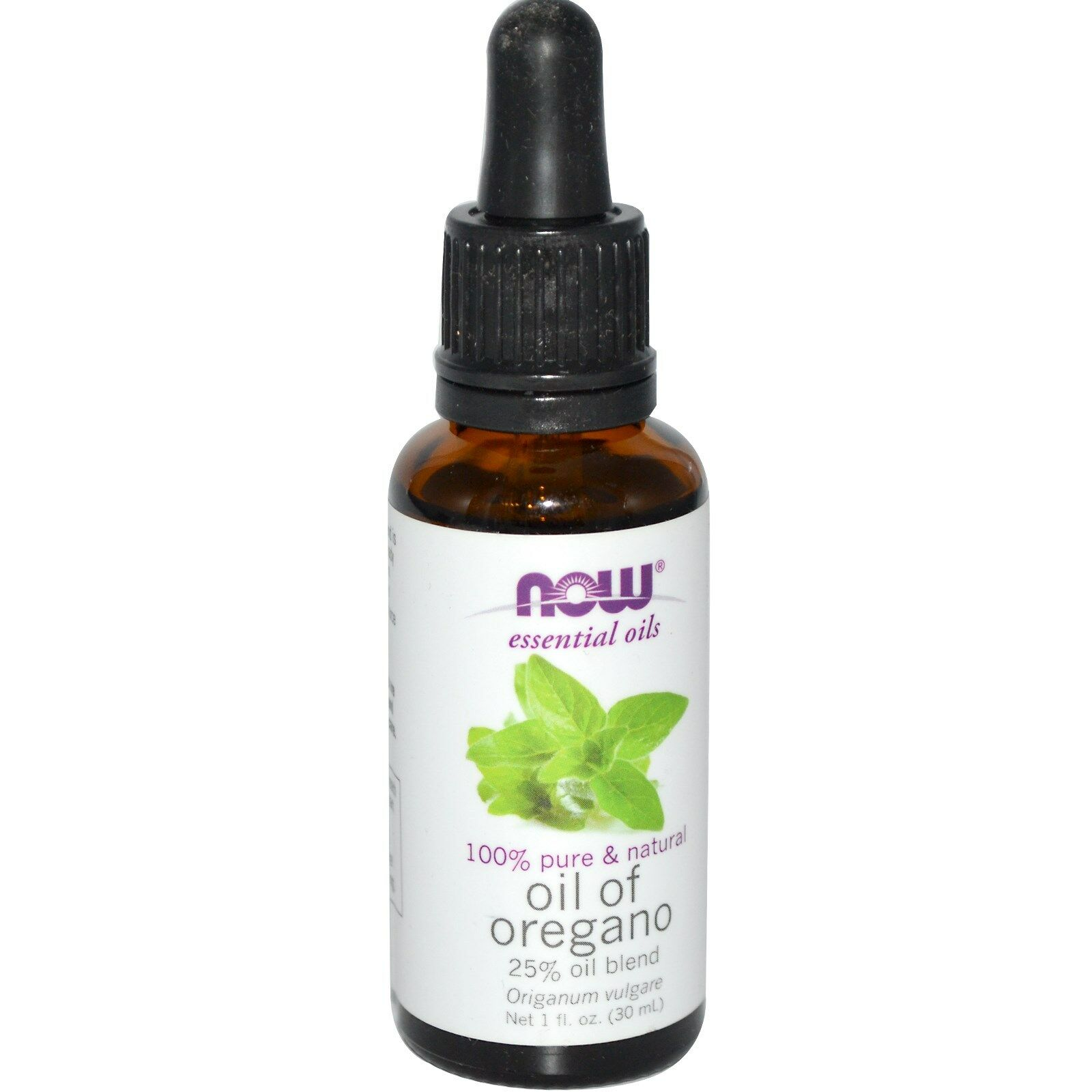 NOW Foods 1 oz Essential Oils and Blend Oils - FREE SHIPPING! Oregano 25% Blend (w/ Dropper)
