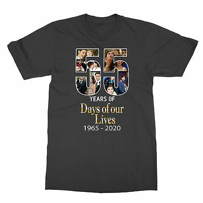Days of our Lives 55th Anniversary Thank You For The Memories Men's