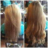 MICRO BEAD HAIR EXTENSIONS $SPECIAL $210-18""