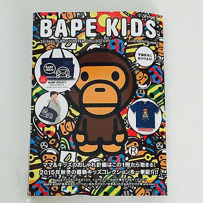 NEW* BAPE KIDS A Bathing Ape MAGAZINE FREE TOTE BAG 2015 Autumn Winter Book