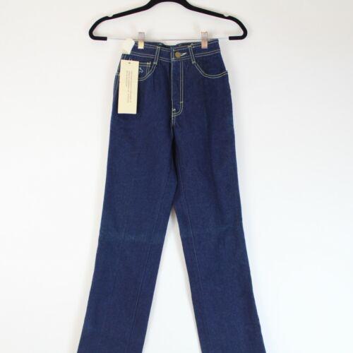 Vintage Deadstock 80s Jordache Horse Embroidery Kids Juniors Jeans Size 24x33