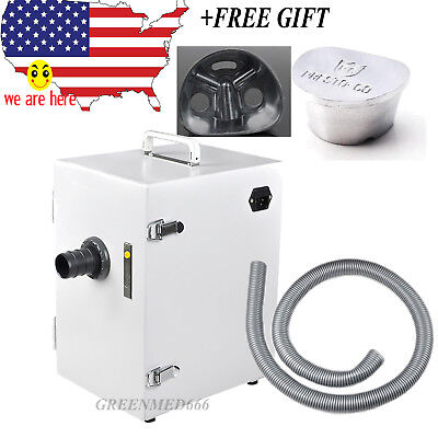 Dental Digital Single-row Vacuum Dust Collector Collecting Air Dust Cleaner
