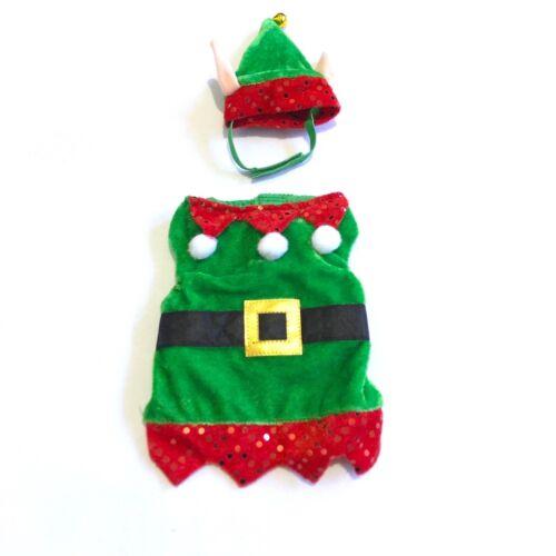 All Living Things Pet Halloween | Christmas Elf Small Pet Costume / Guinea Pig
