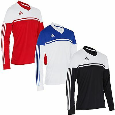 adidas Mens Autheno 12 Long Sleeve Jersey~Football Teamwear~Soccer~Climacool
