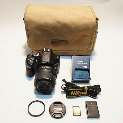 [EXCELLENT!!] Nikon D5200 24.1 MP DSLR w/18-55 VR lens KIT(#3231)