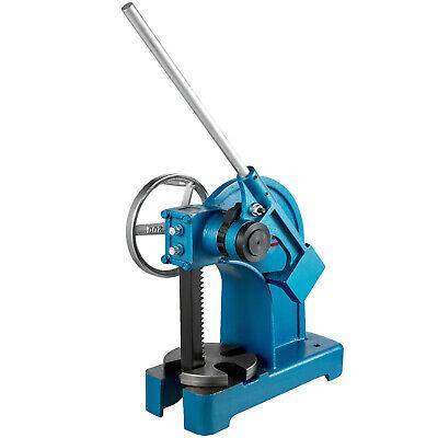 Ratchet Arbor Press 3 Ton Rivet Press Machine Ring Type Cast Iron Assembly Ap-3
