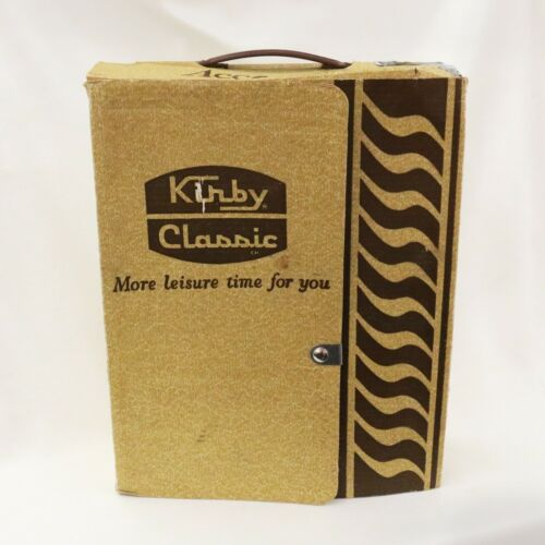 Kirby accessories in Original Box for Kirby G4, Vintage brown