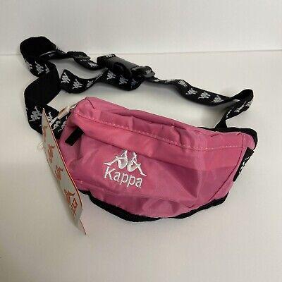 Kappa Fuschia Pink Anais Small Crossbody Sling Waistpack Bag Hip Fanny Pack