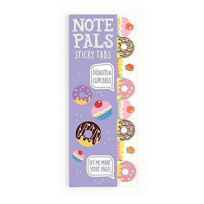 Ooly Note Pals Sticky Tabs Donuts Cupcakes