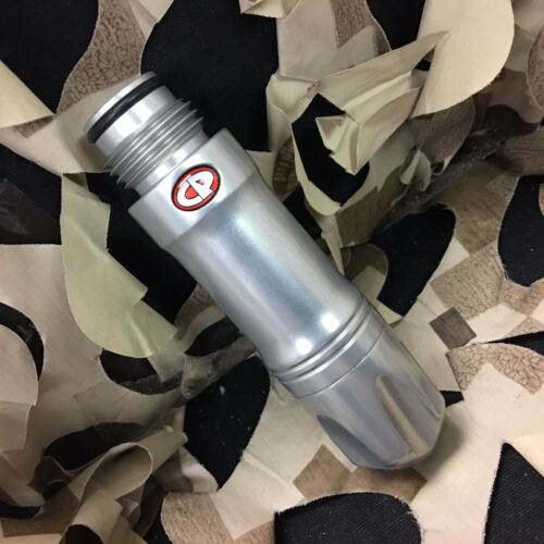 NEW Custom Products CP Paintball V2 Inline Regulator - Silver