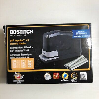 Bostitch Professional B8 Impulse 45 Electric Stapler Value Kit W Staple Pack
