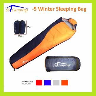 Thermal Sleeping Bag * -5°C 220cm x 80cm x 50cm Camping Hiking Clayton Monash Area Preview