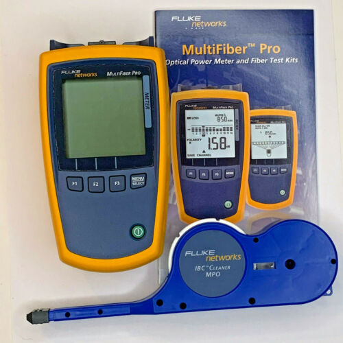 Fluke Networks Multifiber Pro MFPOWERMETER MPO Optical Power Meter