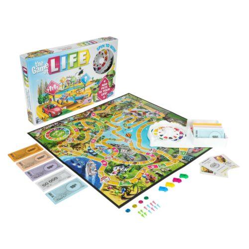 Hasbro E4304000 The Game of Life Boardgame