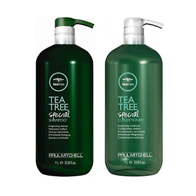 Paul Mitchell Tea Tree special shampoo and conditioner Duo 33.8 oz. 1 liter Duo