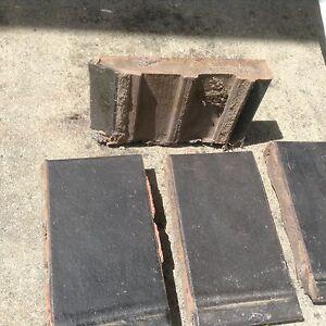 Window sill tiles, dark brown. Norwood Launceston Area Preview