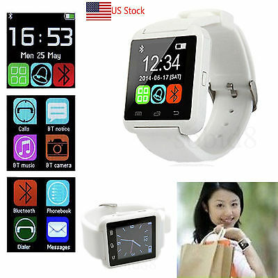 Lady Bluetooth Wrist Smart Watch Phone For Samsung Galaxy S7 S6 Boundary Plus S5 S4