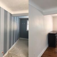 Professional painter for hire.