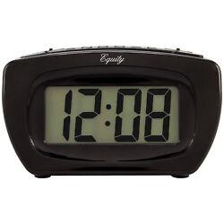 31015 Equity by La Crosse Battery Powered Super-Loud LCD Digital Alarm Clock