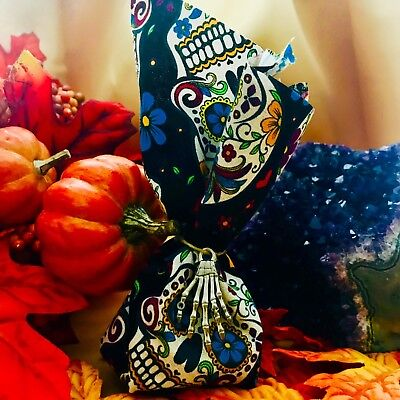 allow Tide Day of The Dead Halloween Ancestor Offering Bag (All Souls Day Halloween)
