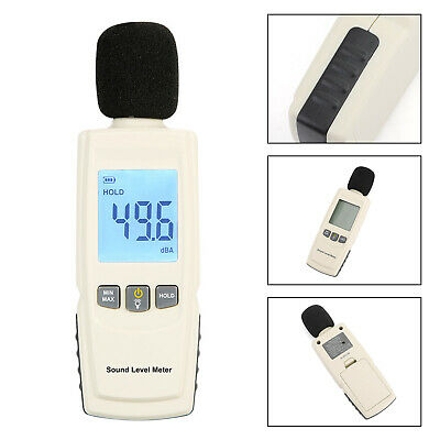 Sound Level Meter Digital Lcd Display Noise Tester Measurement 30-130db Gm1352