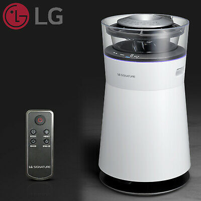 LG SIGNATURE AW141YBW ThinQ Air Purifier (Only 220V 60Hz)