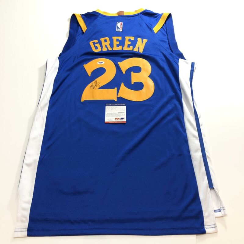 Draymond Green signed jersey PSA/DNA Golden State Warriors Autographed