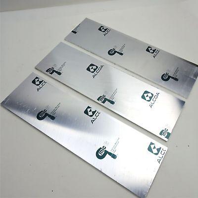 .25 Thick Cast Aluminum Mic-6 Alcoa Flat Plate 5.625 X 17.5 Qty 3 Sku 136640