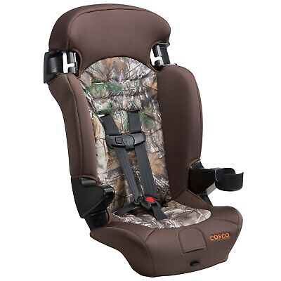 2-in-1 Booster Car Seat 5 Point Harness Machine Washable 65-100 lbs Child Chair