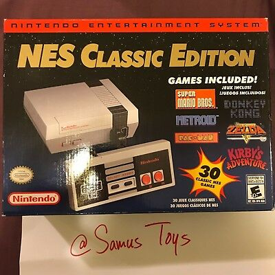 Nintendo Nes Classic Edition Mini Console   100  Authentic Brand New  Fast Ship
