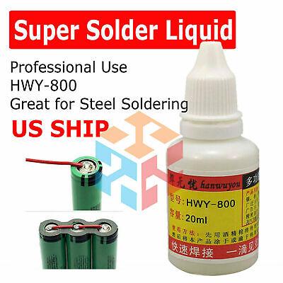 20ml Stainless Steel Flux Soldering Paste Stainless Steel Liquid Solder Tool