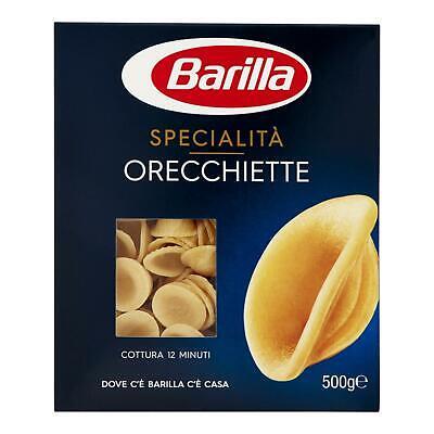 PASTA BARILLA ORECCHIETTE N° 256 500 GR SPECIALITY' PUGLIESI ITALIAN FOOD