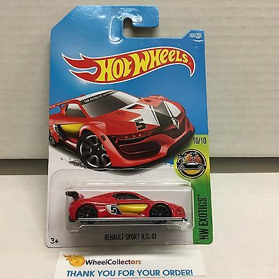 Renault Sport RS 01 #365 * RED * 2017 Hot Wheels Case Q * D31