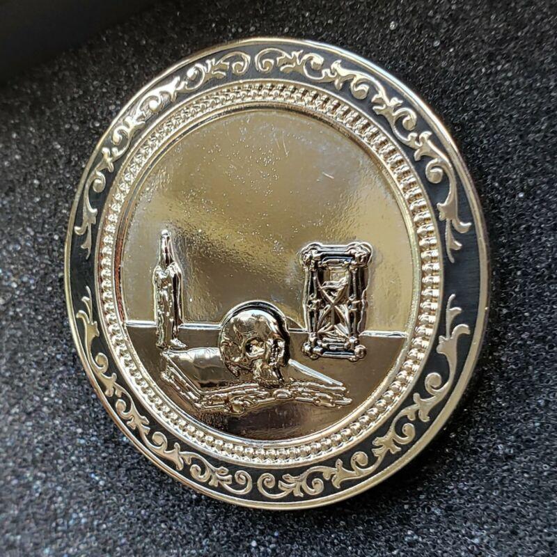 Chamber Of Reflection Coin - Freemason Masonic Mason Esoteric Occult Hidden