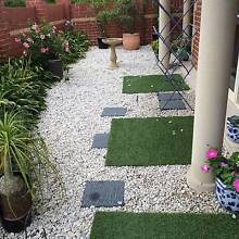 Garden pebbles white St Ives Ku-ring-gai Area Preview