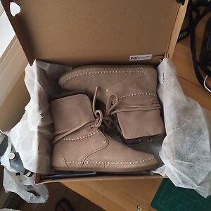 Toms Mocassin Suede Boots 2 Pairs
