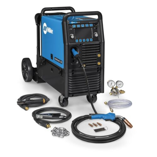 Miller Multimatic 255 Pulsed Multiprocess Welder w/Running Gear (951767)