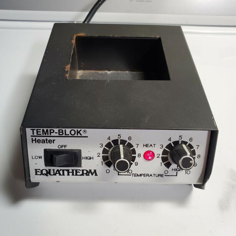 Equatherm Temp-Blok Heater Incubator Electric