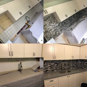Professional Backsplash $500