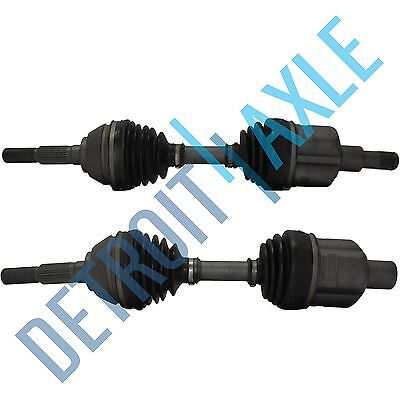 Front Driver Passenger Side CV Axle Shaft w/o ABS 5 Lug Wheels Only - No ZR2